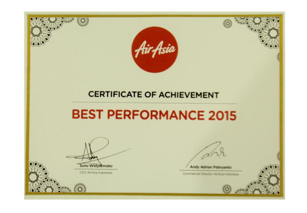 Air Asia - Best Performance 2015