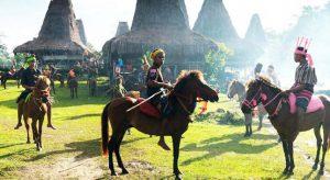 Parade Sandelwood dan Tenun Ikat Sumba @ Sumba, NTT | East Nusa Tenggara | Indonesia