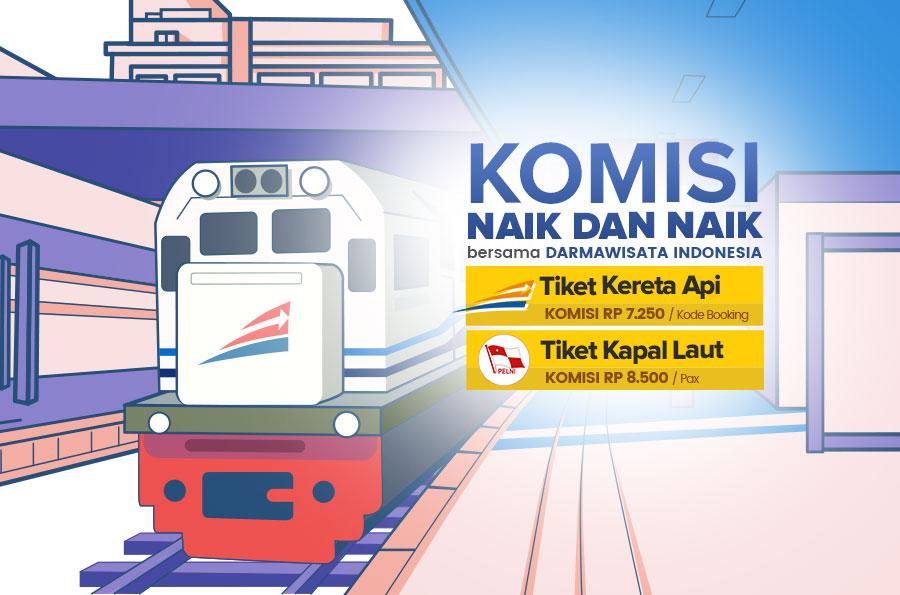 Update Komisi Tiket Kai Dan Pelni