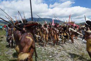 Festival Budaya Lembah Baliem @ Wamena, Jayawijaya