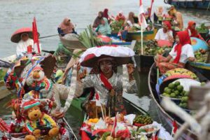 Festival Budaya Wisata Pasar Terapung @ Jln jendral sudirman 44, Banjarmasin