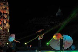 Festival Payung Indonesia @ Candi Borobudur, Kabupaten Magelang