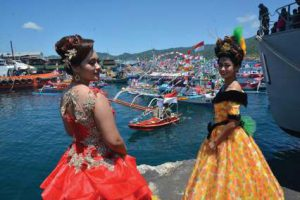Festival Pesona Selat Lembeh @ Satkamla, Kecamatan Aertembaga Kota Bitung