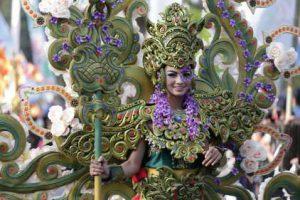 Malang Flower Carnival @ Jalan Ijen Simpang Balapan Kota Malang