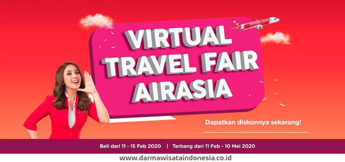 Virtual Travel Fair Airasia Februari 2020