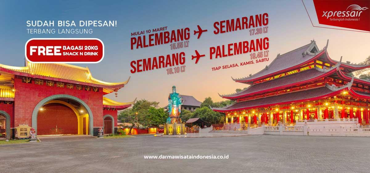 Jadwal Baru Penerbangan Xpressair Palembang Semarang