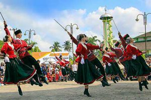 Tenggarong International Folk Art Festival VIII (TIFAF) @ Kalimantan Timur