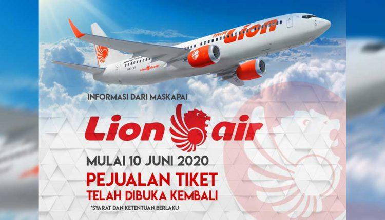 Lion Air Berita Terbaru Terbang 10 Juni 2020